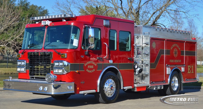 Engine 1 - 2016 Spartan Metro Star X