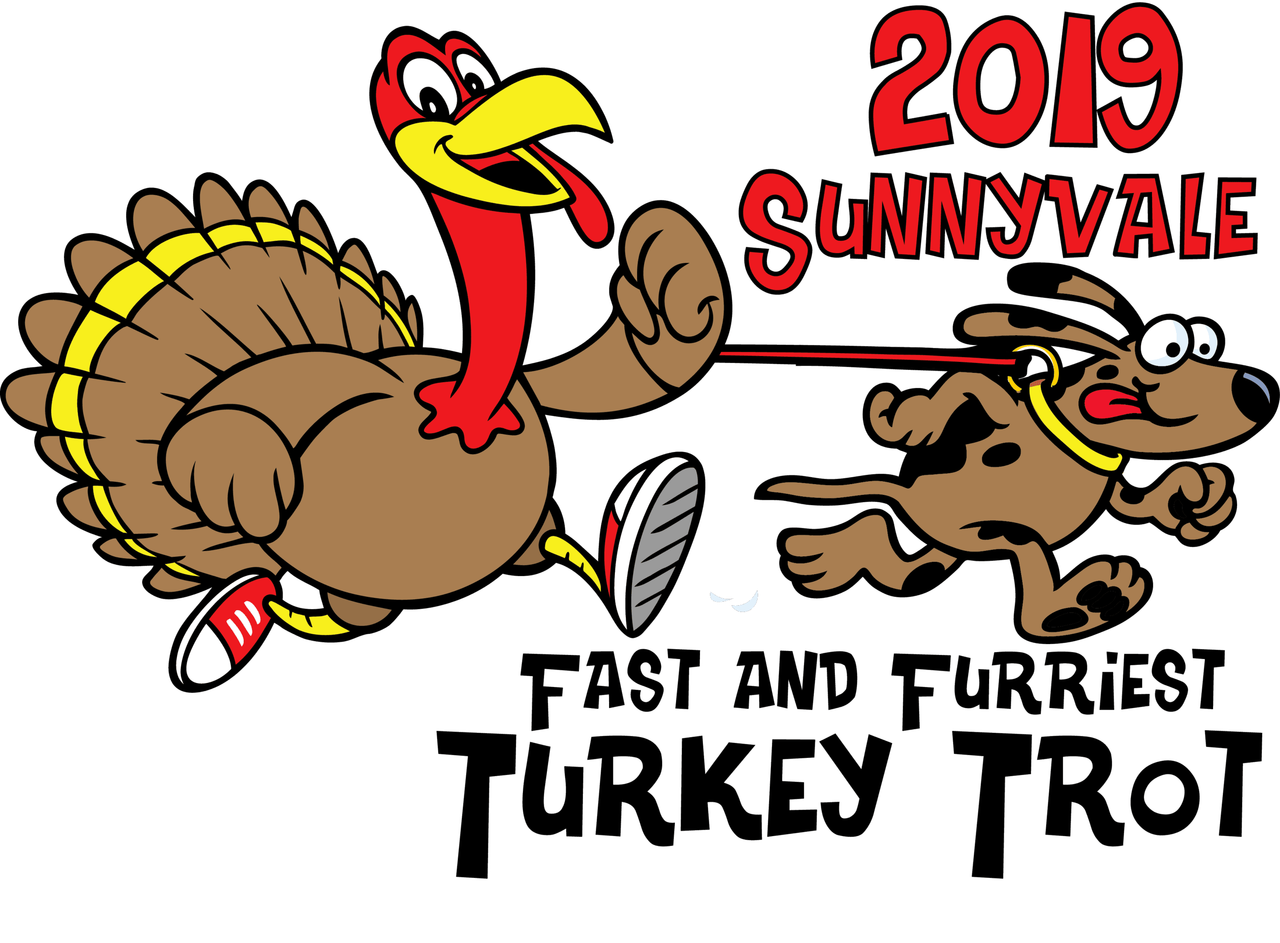 2019 Turkey Trot w Dog