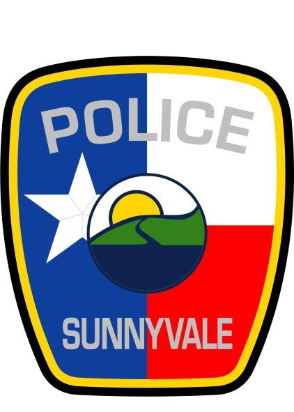 SUNNYVALE POLICE Patch NEW 3